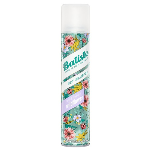Batiste Dry Shampoo Aerosol Spray 200ml - Wildflower