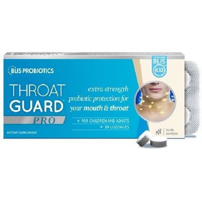 Blis ThroatGuard Pro with BLIS K12™ Lozenges 30 - Vanilla