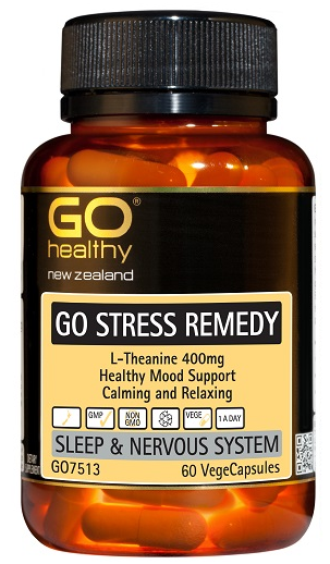 GO Healthy GO Stress Remedy Capsules 60