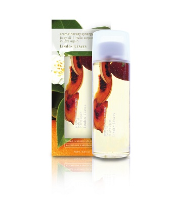 Linden Leaves Aromatherapy Synergy Body Oil 250ml - In Love Again
