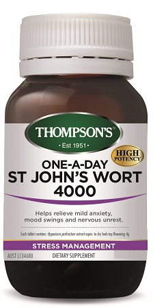 Thompson's St John's Wort 4000 One-a-Day Tablets 30