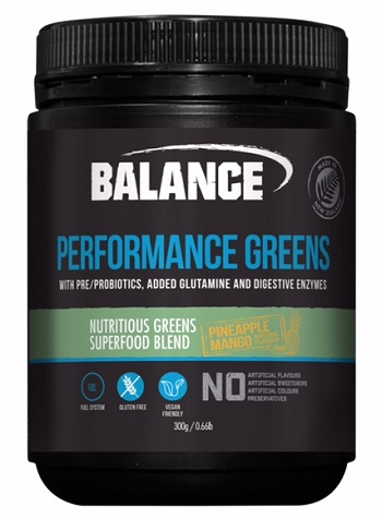 Balance Performance Greens 300g - Pineapple/Mango