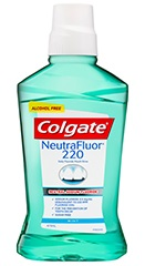Colgate NeutraFluor 220 Mouth Rinse 473ml - Mint