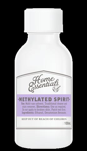 Home Essentials Methylated Spirit 100ml - Quantity Restriction (1) Applies