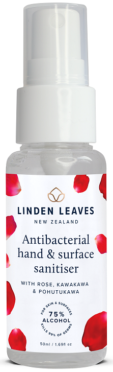 Linden Leaves Antibacterial Hand & Surface Sanitiser Spray 50ml