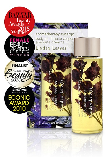 Linden Leaves Aromatherapy Synergy Body Oil 60ml - Absolute Dreams