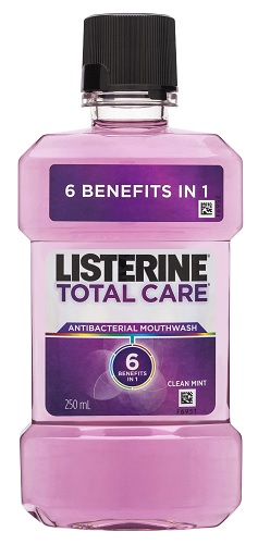 Listerine Total Care - Antibacterial Mouthwash 250ml