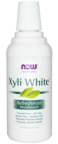NOW - Solutions - XyliWhite Mouthwash 473ml - Refreshmint
