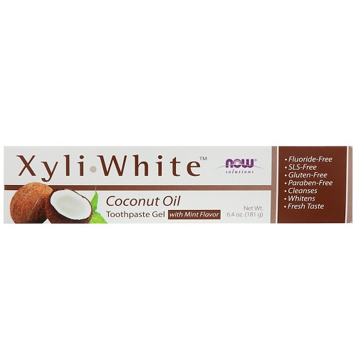 NOW - Solutions - XyliWhite Toothpaste Gel 181g - Coconut Oil Mint