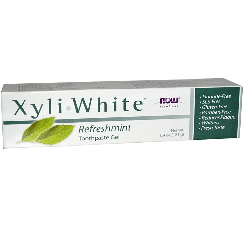 NOW - Solutions - XyliWhite Toothpaste Gel 181g - Refreshmint
