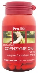 Pro-Life Coenzyme Q10 300mg Capsules 30