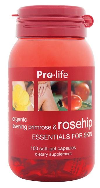 Pro-Life Evening Primrose Oil & Rosehip SoftGels 100