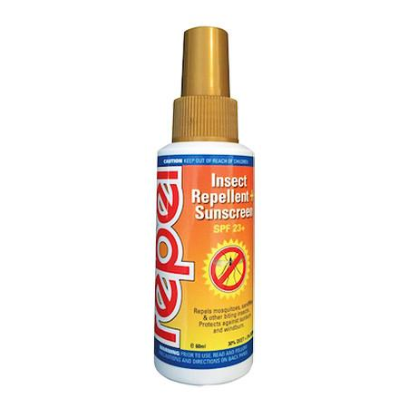 Repel Insect Repellent + Sunscreen SPF23+ Pump Spray 60ml