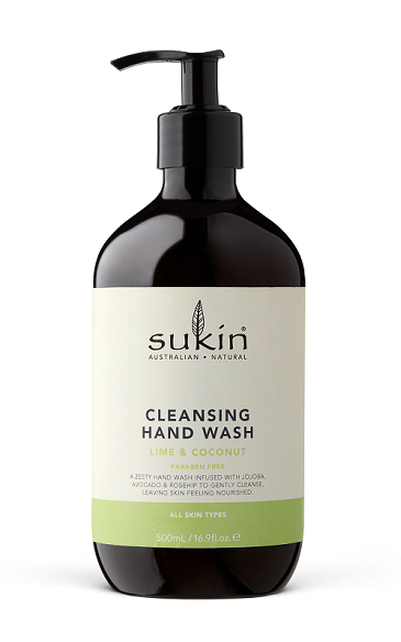 Sukin Cleansing Hand Wash 500ml - Coconut & Lime