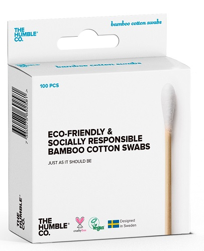 The Humble Co. Cotton Swabs 100 - White