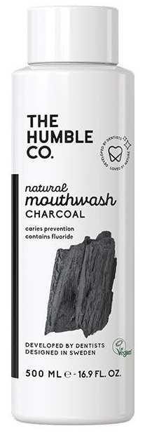 The Humble Co. Natural Mouthwash - Charcoal 500ml