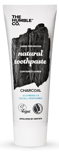 The Humble Co. Natural Toothpaste 75ml - Charcoal