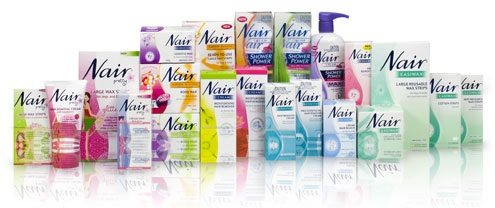 nair precision hair removal cream face instructions